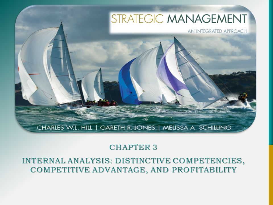 Chapter 3 Internal Analysis: Distinctive Competencies, Competitive Advantage, and Profitability