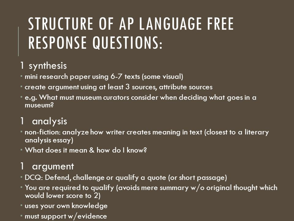 ap language composition research paper