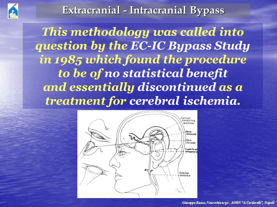 This methodology was called into question by the EC-IC Bypass Study