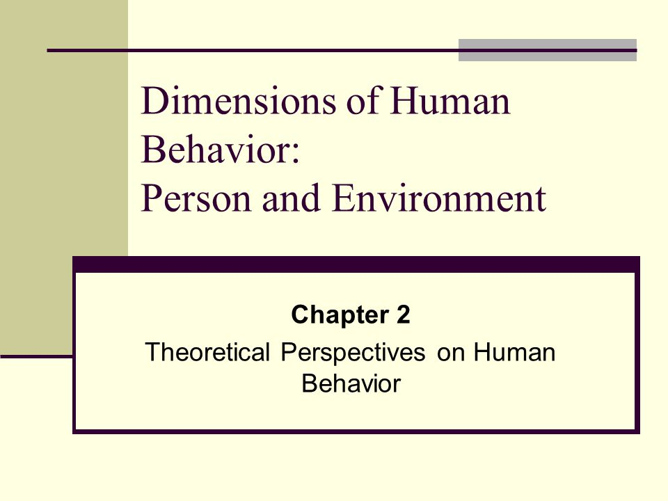 theoretical models for understanding human behavior Behavioral psychology, or behaviorism, is an approach in psychology which studies observable behavior, emphasising the role that conditioning plays in influencing a person's thoughts and actions learn more about the behavioral approach and discover the key theories and studies which have informed.