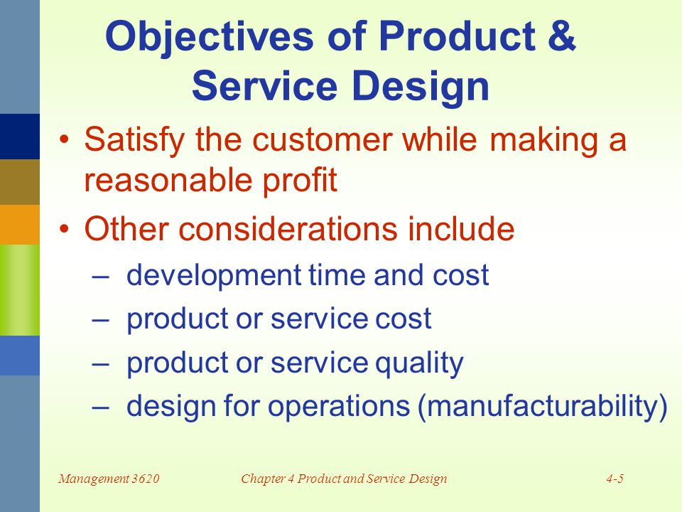 Product and service design ppt download for Product design services