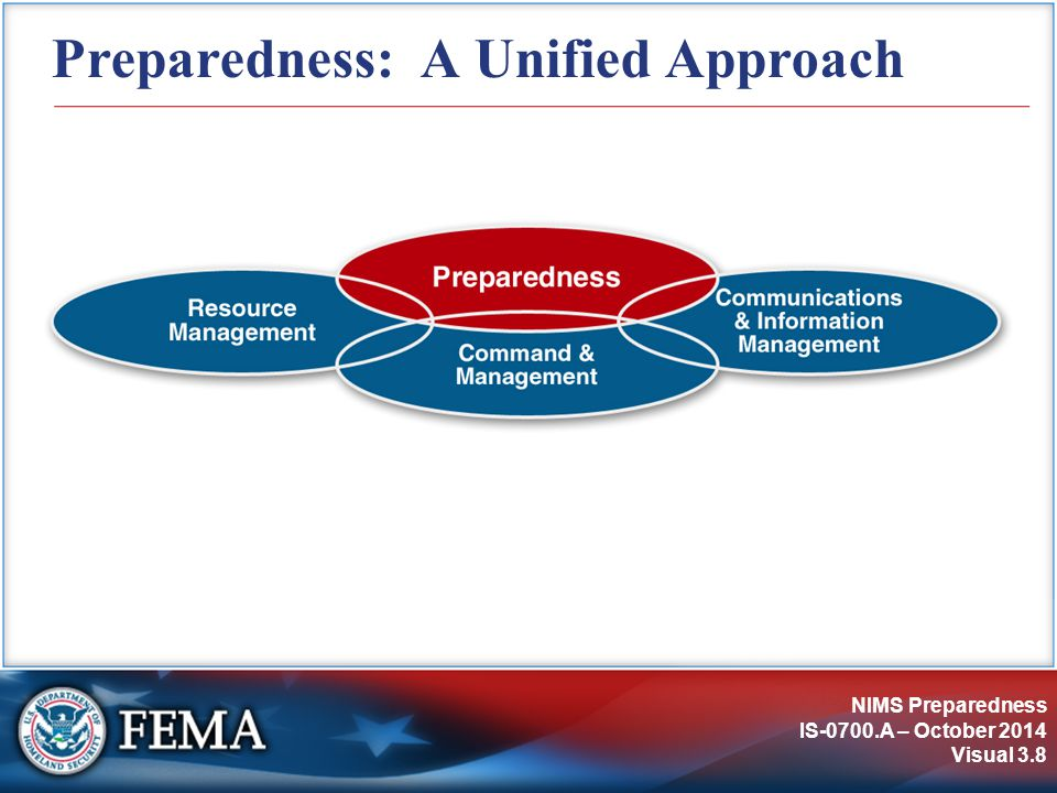Preparedness: A Unified Approach
