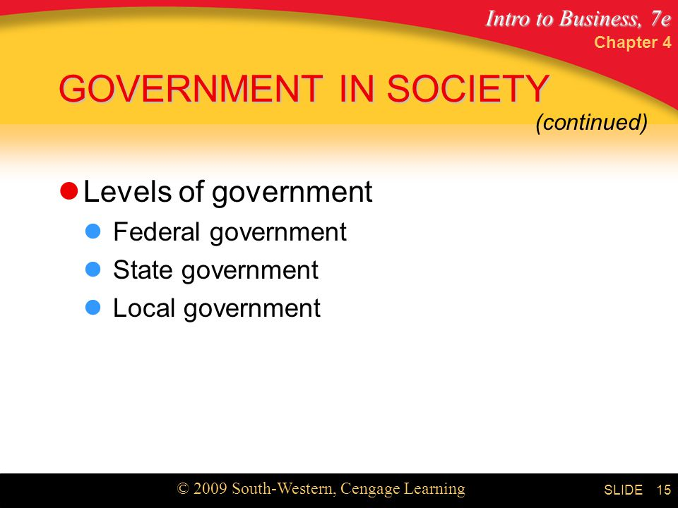 business government and society chapter 2 Government and politics chapter 18 work and the economy chapter 19 health and medicine  chapter 17 government and politics  we might have been satisfied with an answer that examined how various political institutions and processes function in society: the state, the government, the civil service, the courts, the democratic process, etc.