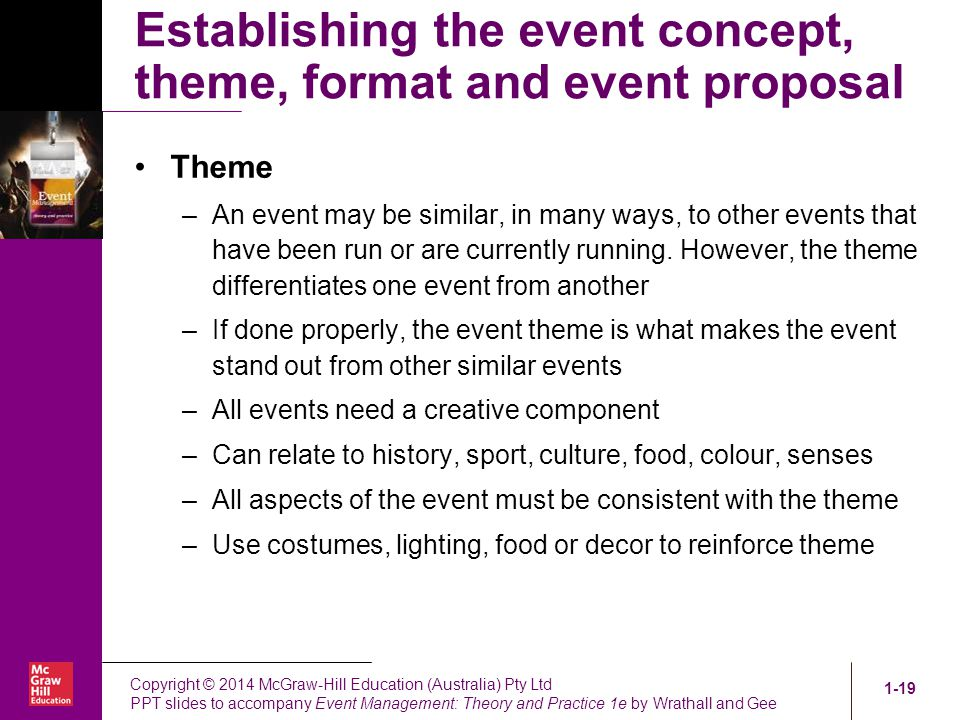 event proposal powerpoint
