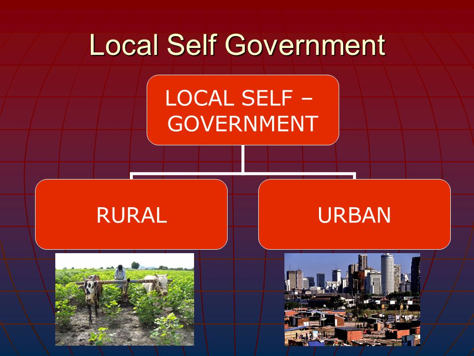 local government An administrative body for a small geographic area, such as a city, town, county, or state a local government will typically only have control over their specific geographical region, and can not pass or enforce laws that will affect a wider area.