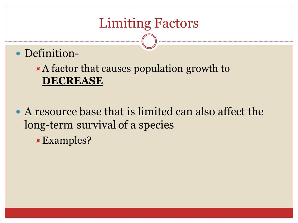 Ch 8 Populations Limits To Growth Ppt Download