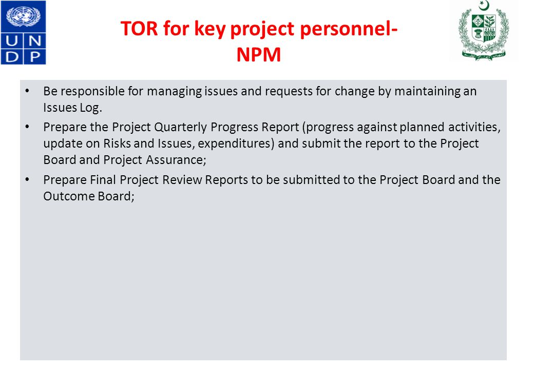 Sequence Project Management Arrangement Functions Of Pmu - Ppt