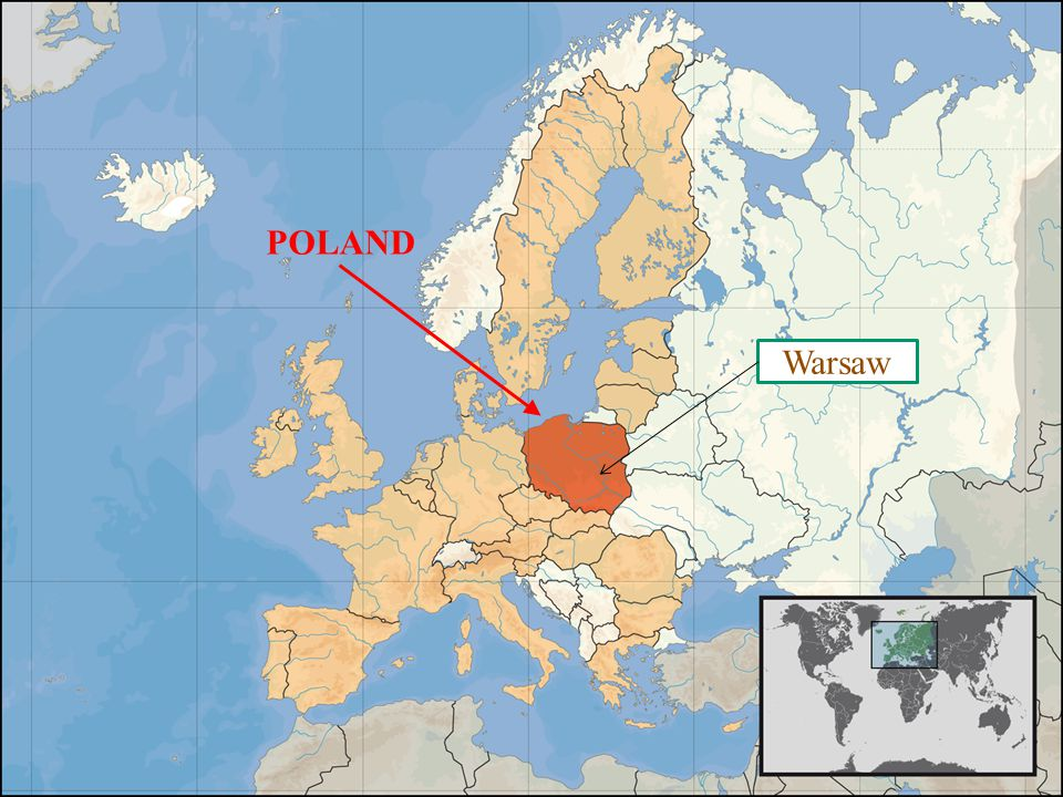 POLAND Poland in the world Warsaw