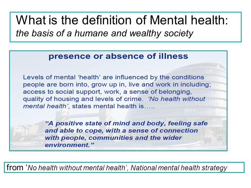 the definition of mental illnesses Overview mental and substance use disorders affect people from all walks of life and all age groups these illnesses are common, recurrent, and often serious, but they are treatable and many people do recover.