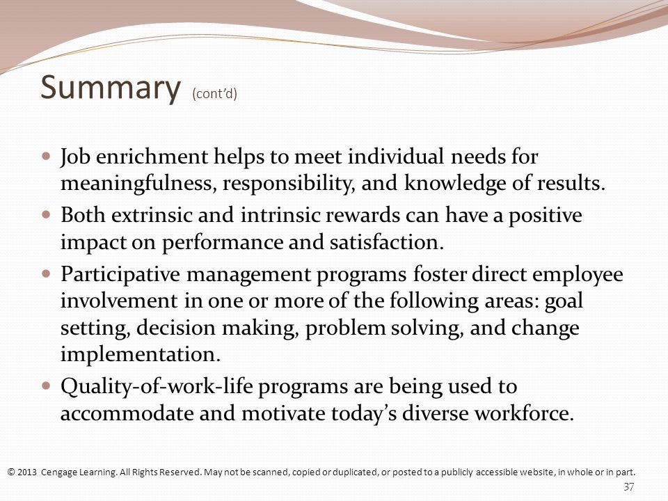impact of job enrichment on employee performance Issuu is a digital publishing  this study is based on the literature review to analyze the he impact of job design on employee performance and a  job enrichment.