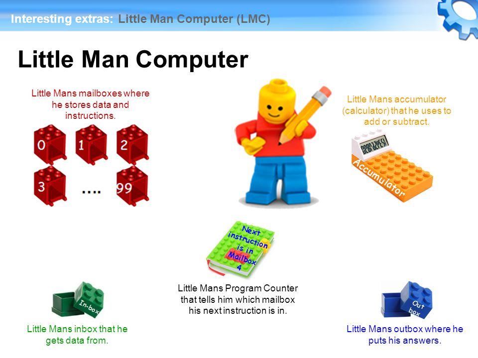little person computer instruction Online little man computer (lmc) javascript emulator in browser  little man  computer (lmc) memory address, value  instruction set add, 1xx, add.