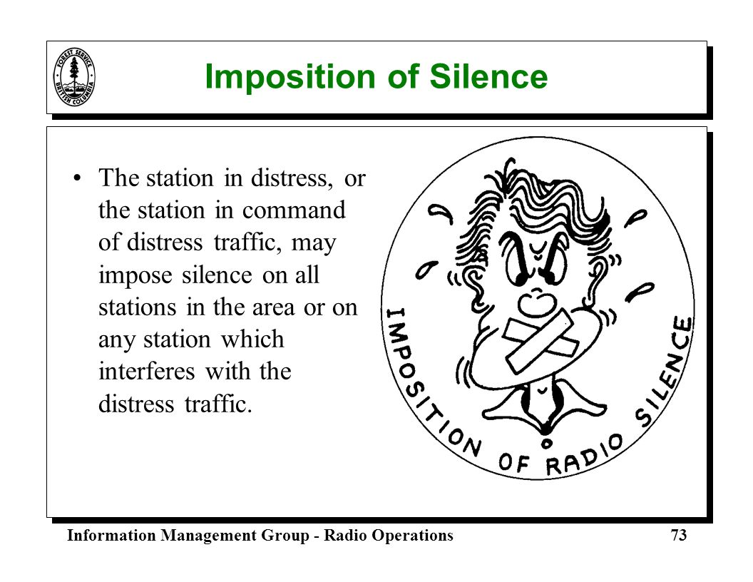 Imposition of Silence