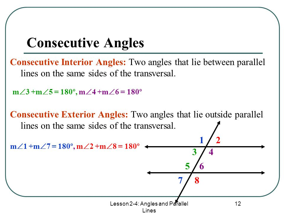 Parallel Lines Transversals Angles Ppt Video Online Download