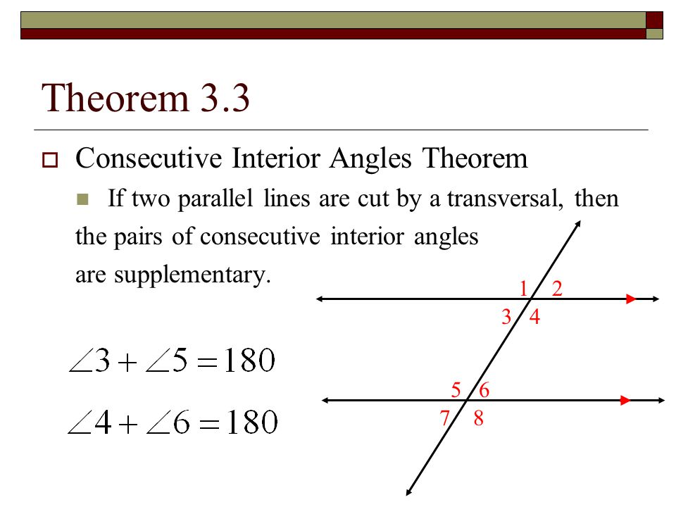 Use Parallel Lines And Transversals Ppt Download