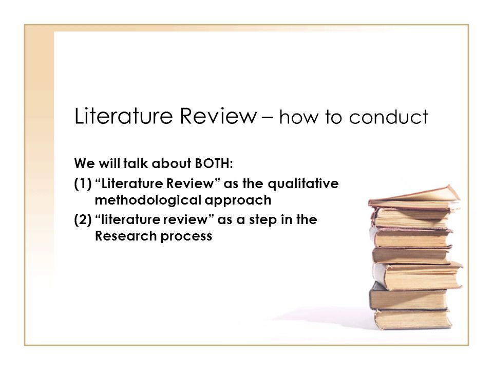 getting started on your literature review Doing a literature review study guide  getting started reading anything on your research area is a good start.