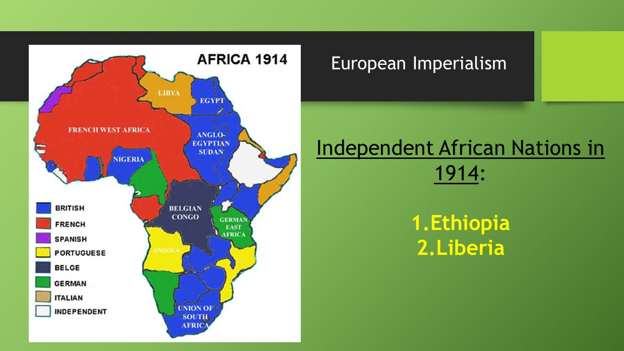 a history of the european scramble for africa European scramble for africa identify an additional type of document and explain how it would help in assessing african actions and reactions historical background: in the three decades after the berlin conference on africa (1884–1885), european powers occupied and colonized areas in africa, a process later termed the scramble for africa.
