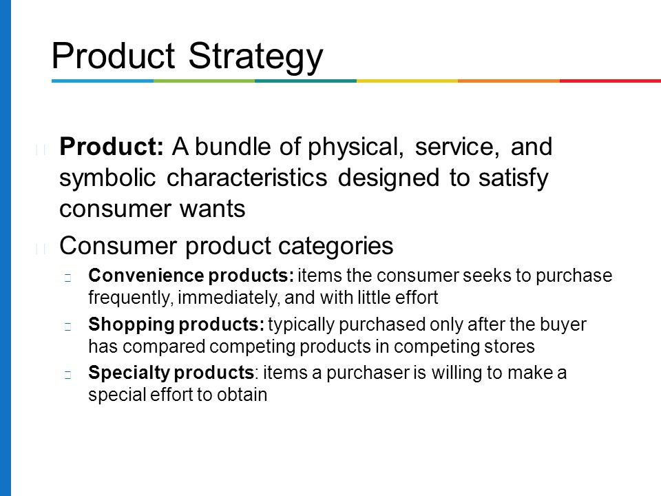 Product And Distribution Strategies  Ppt Download