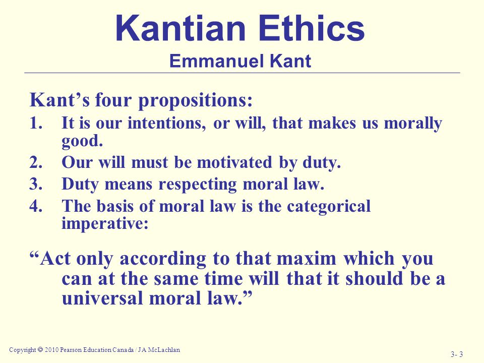 emmanuel kants categorical imperative when dealing with the importance of moral duty