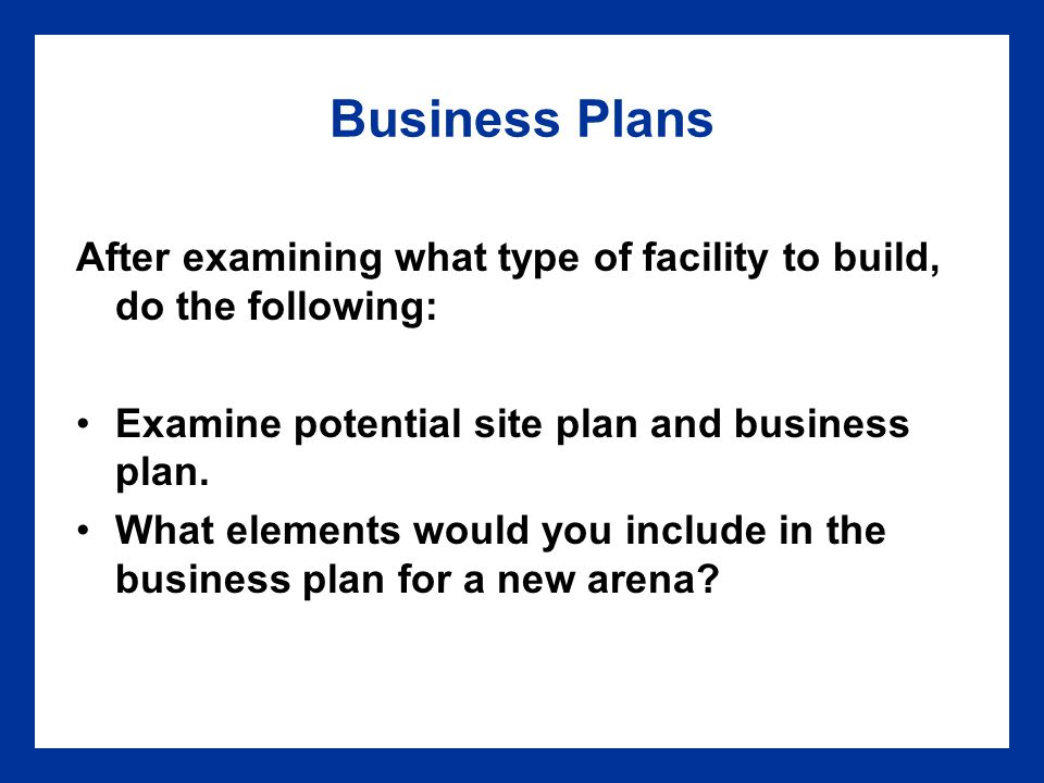 4 Facility Planning Facility Planning Chapter 4 Chapter Ppt Download