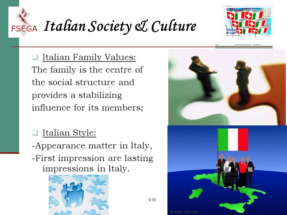 italy tradition ideals essay