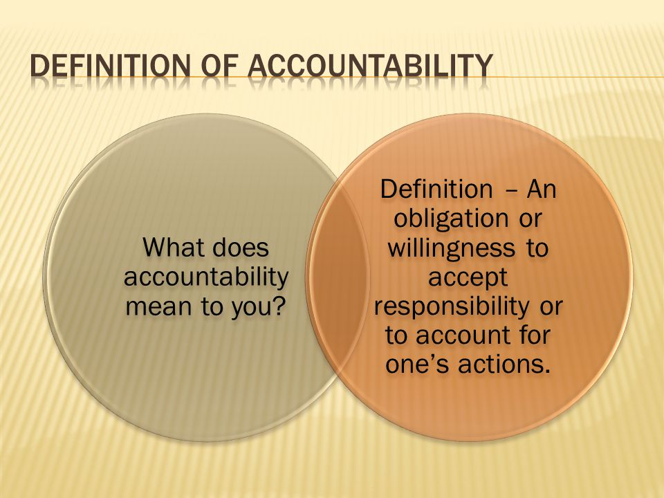 the accountability of man for his own actions 9 tips for teaching kids responsibility the next time you make your own bed things also helps a child develop a sense of responsibility for his actions.