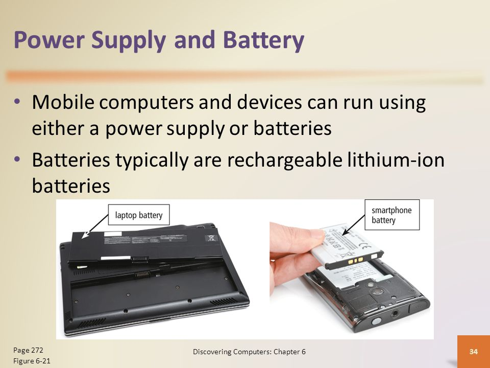 Power Supply and Battery