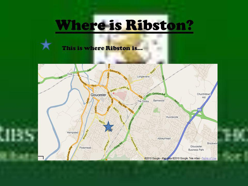 Where is Ribston This is where Ribston is…