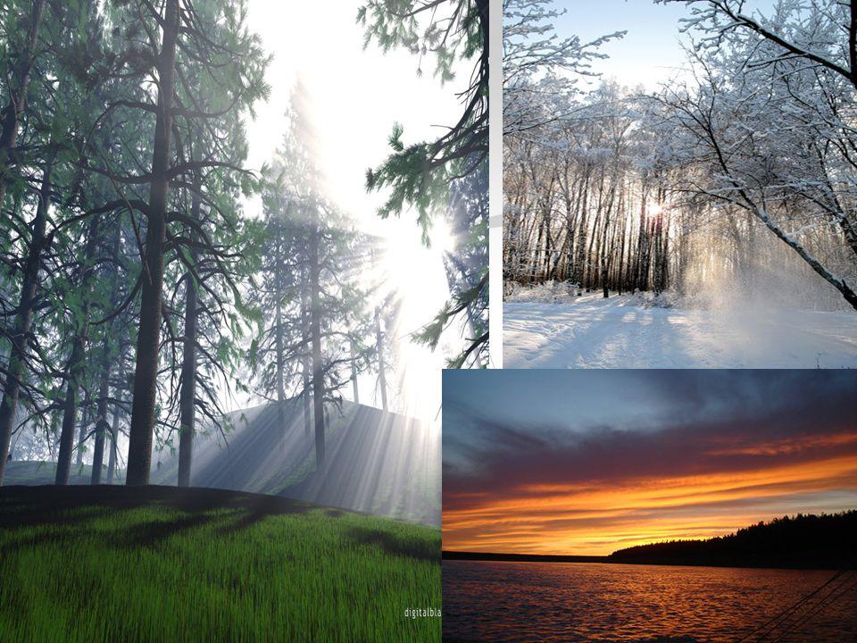 З прадавніх часів люди жили в тісному спілкуванні з природою