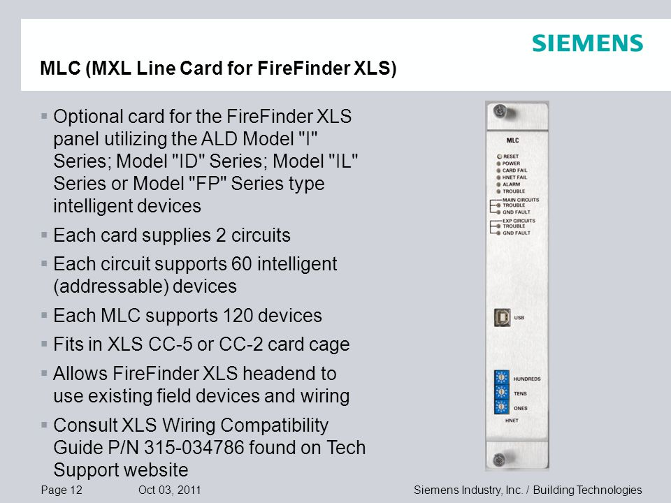 MLC+%28MXL+Line+Card+for+FireFinder+XLS%29 mxl mxl iq to firefinder xls total migration solution ppt video siemens xls wiring diagram at gsmx.co