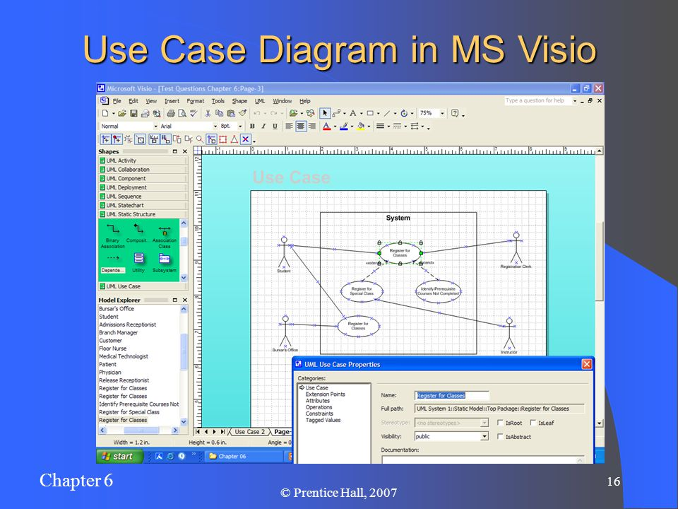 how to draw use case diagram in visio 2007