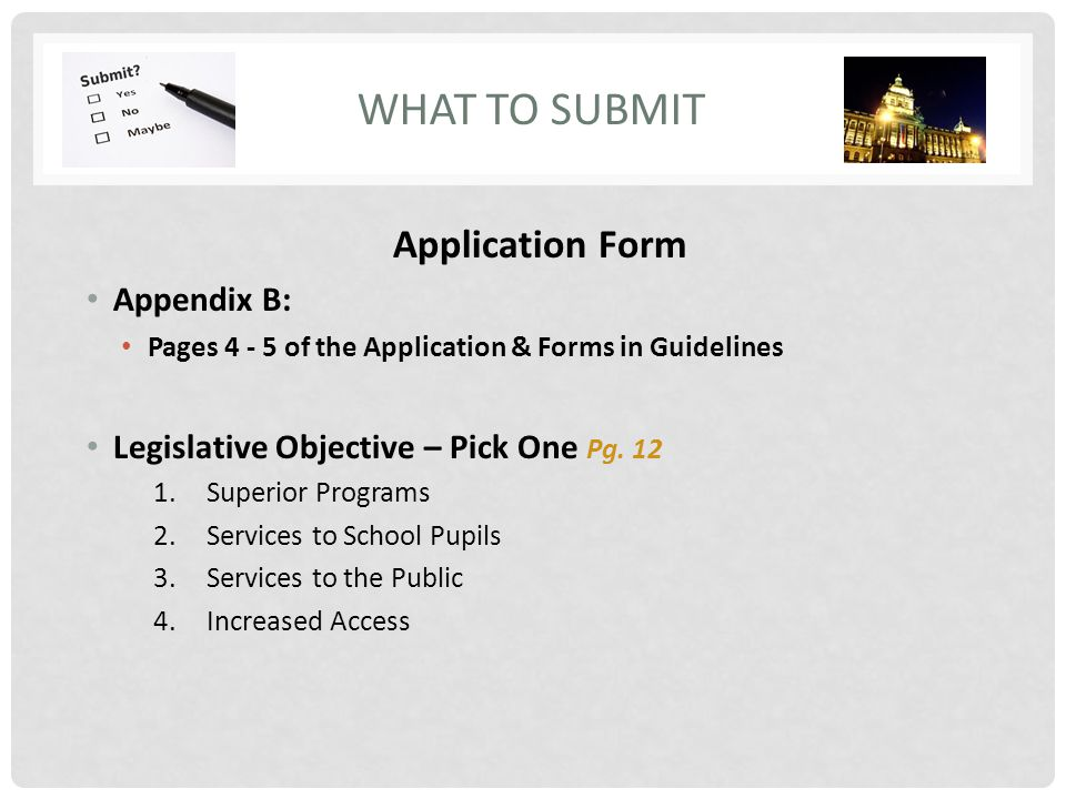 Superior Service Application Form. What To Submit Application Form