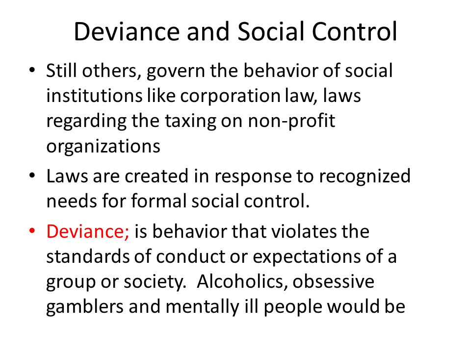 social control and behavior How social media is influencing your behavior  the link between social networks and social epidemics  we like to think that we are largely in control of our day-to-day lives, yet most of .