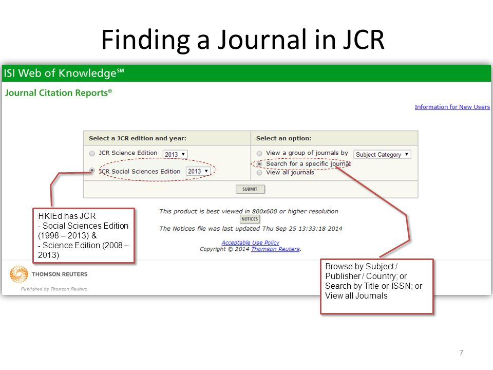 how to search journals online