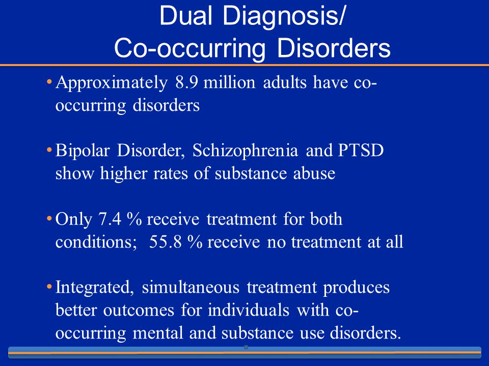 co occurring disorders essay Assessment of addiction and co-occurring disordersfor this assignment, you will select one of the case scenarios provided in the assignment's resources and analyze assessment tools that would support the diagnostic process for both the substance use and mental health issues presented.