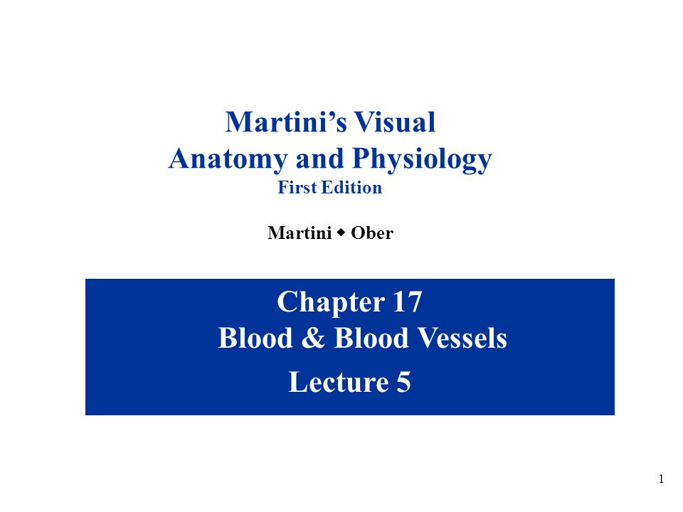 Anatomy and Physiology Chapter 17 Blood & Blood Vessels