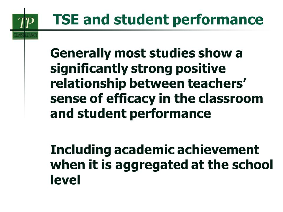 teacher student relationship and academic performance excellence