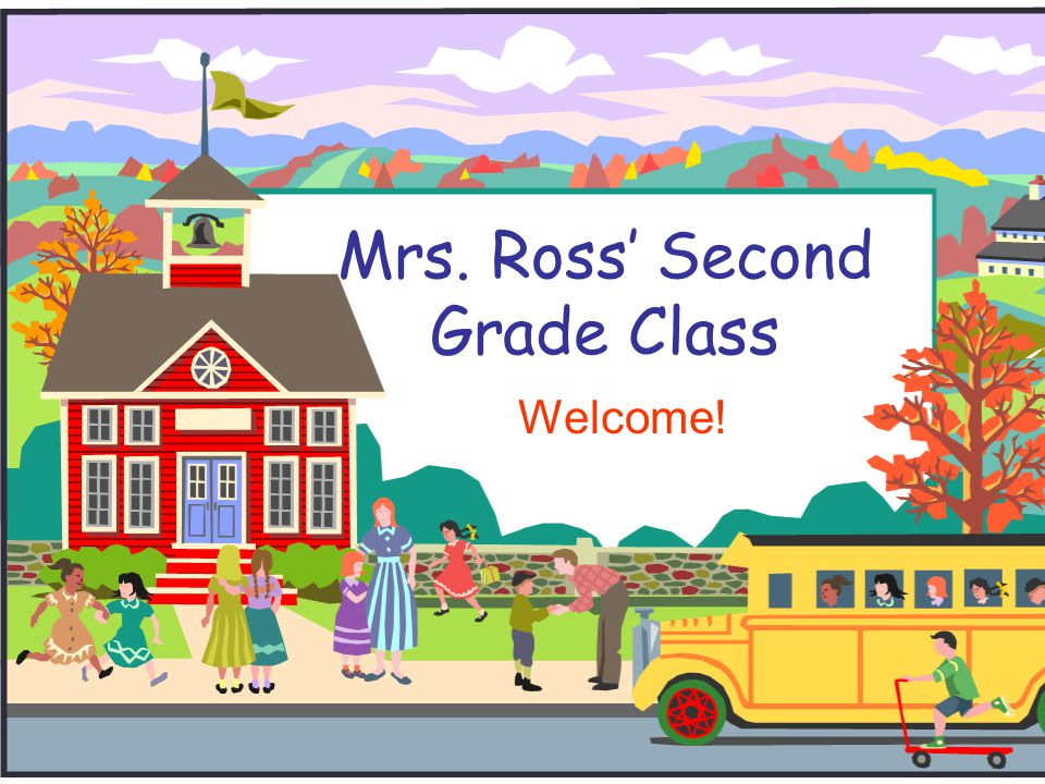 Mrs. Ross' Second Grade Class
