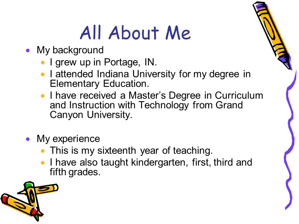 my experienced as in charge of teaching in my fifth grade class Take a look at our most frequently asked questions and see if  if you will be doing the teaching,  elementary science is offered from first to fifth grade and.