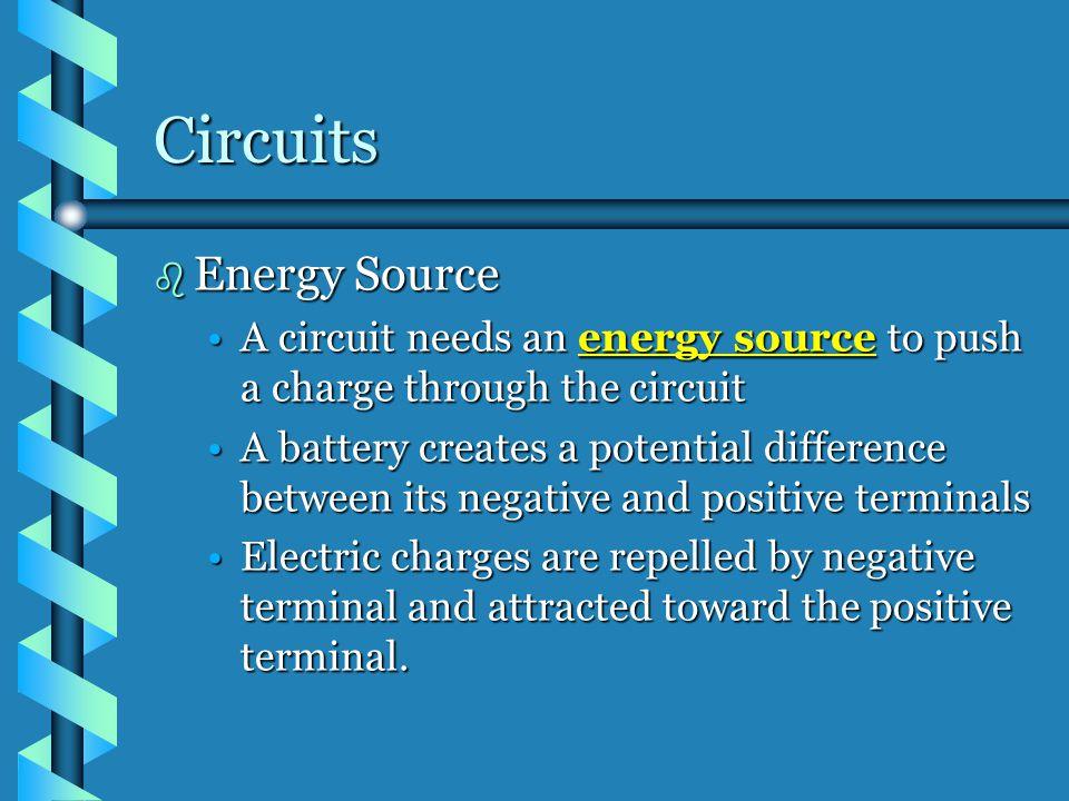 Circuits Energy Source