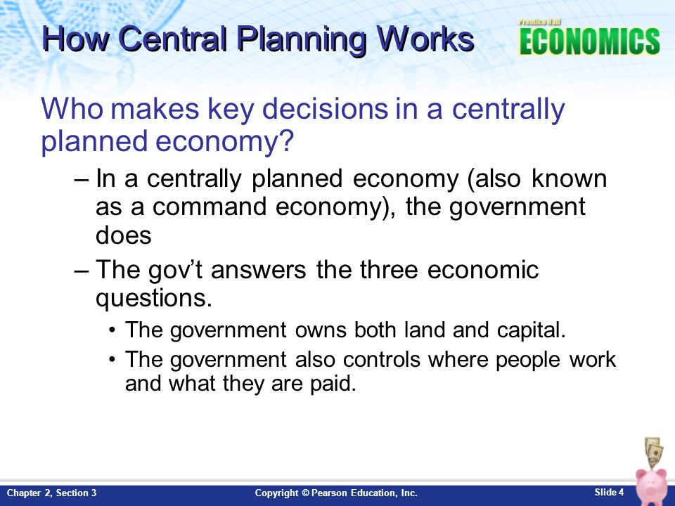 Centrally Planned Economy