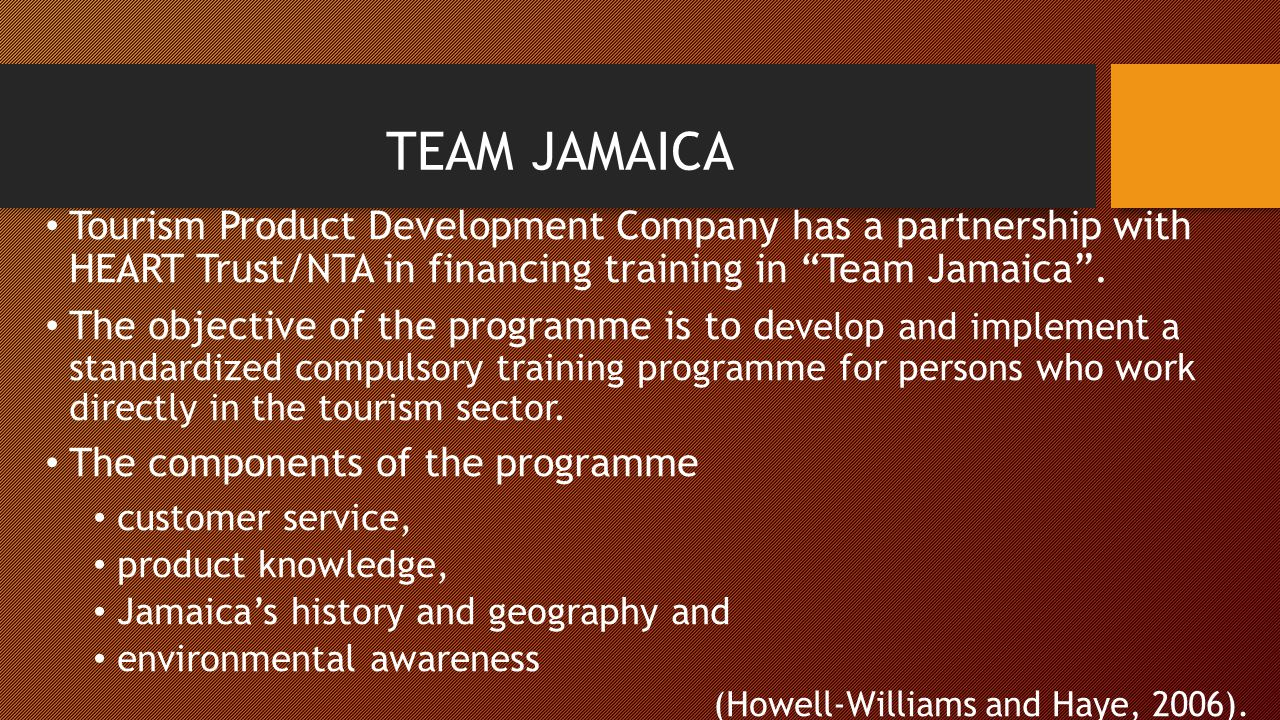Importance of tvet in addressing changes in the jamaican for Product development corporation