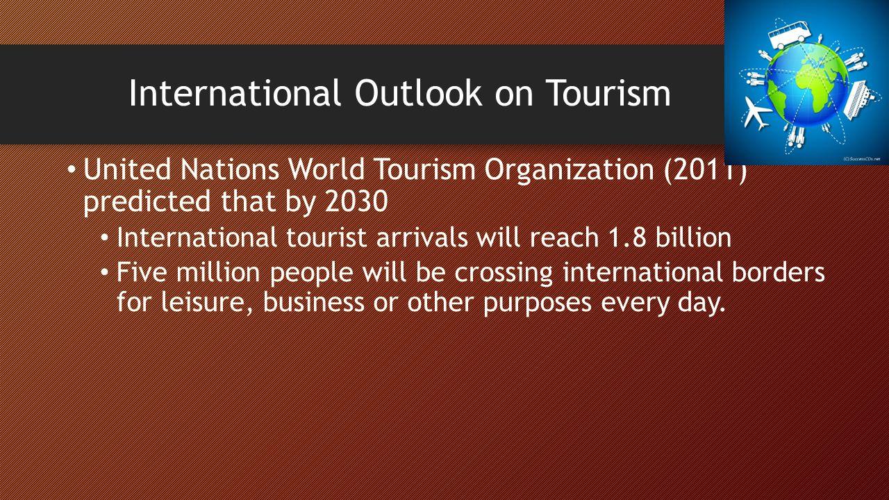 importance of international tourism