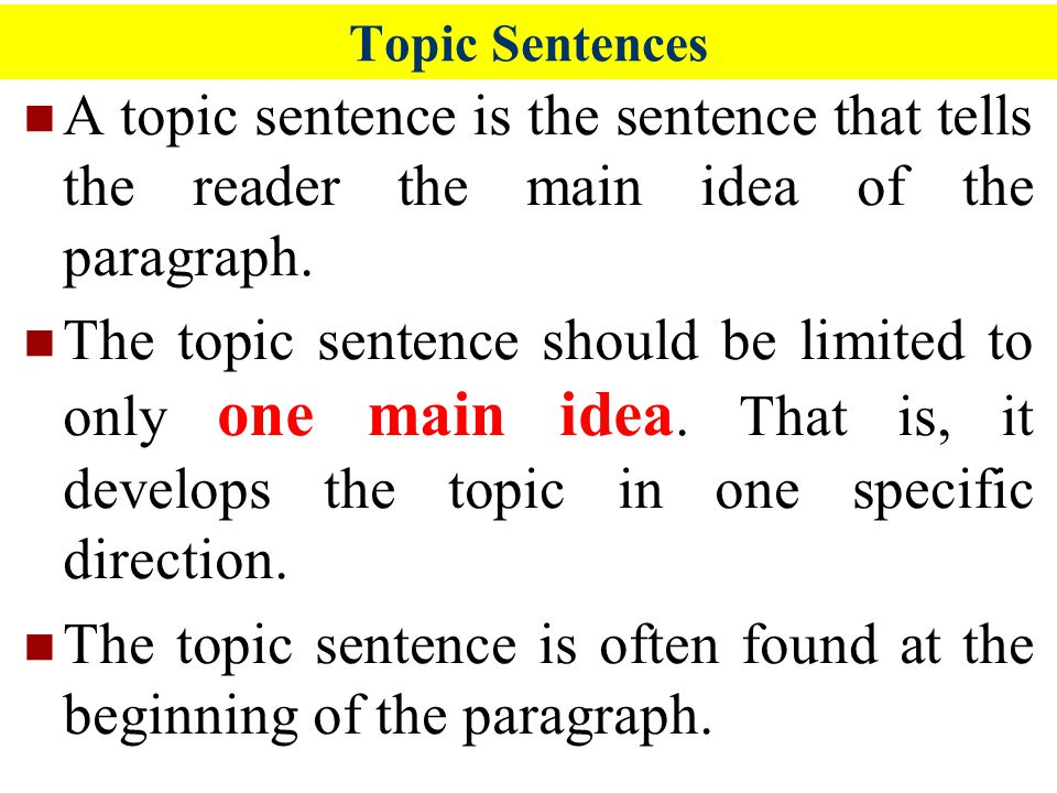 topic sentence for the lottery Topic sentence: a lottery is a chance game where people enter for a prize that they want 1 detail: the title of shirley jackson's short story is the lottery so .