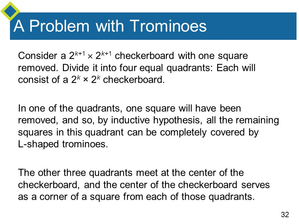 A Problem with Trominoes