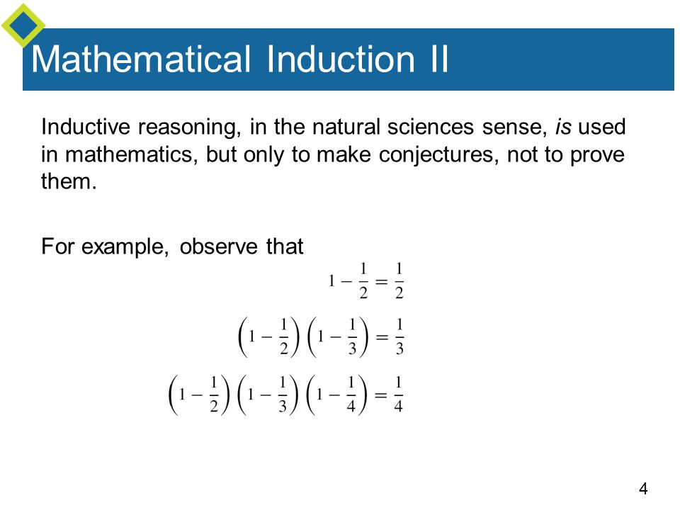 Mathematical Induction II