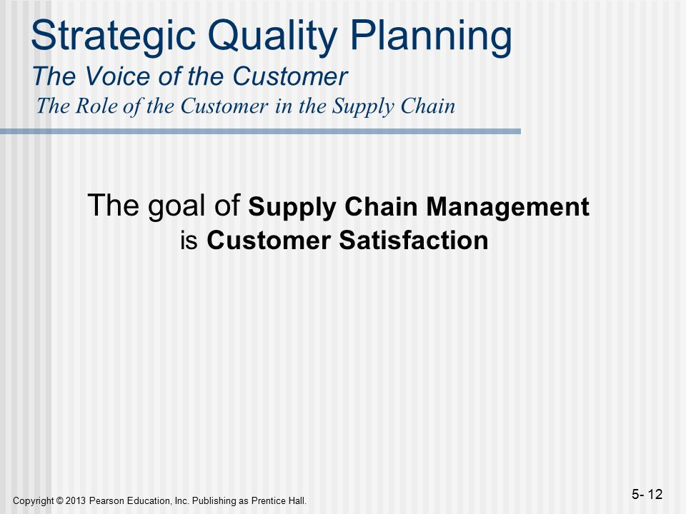 strategic quality management and customer satisfaction Keywords: strategic quality management, strategic quality, creative quality, collaborative quality  satisfaction of customer needs and expectations at the best cost, which considers it more appropriate for a new policy quality 21 although it seems a change of vision, detre's definition highlights the quality of the recipient, which is.