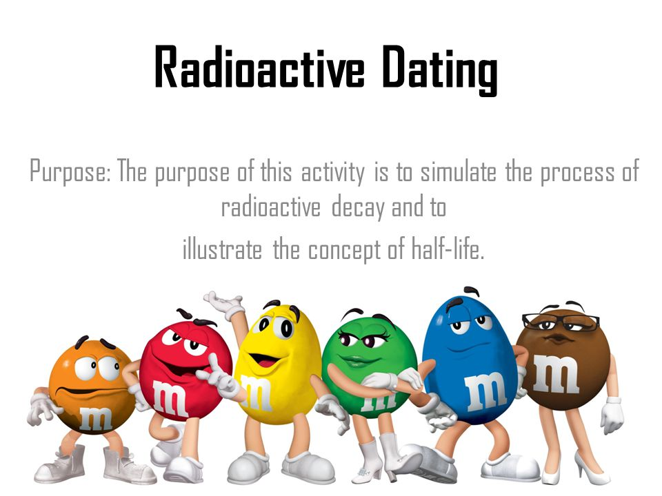 Radiometric dating and half life