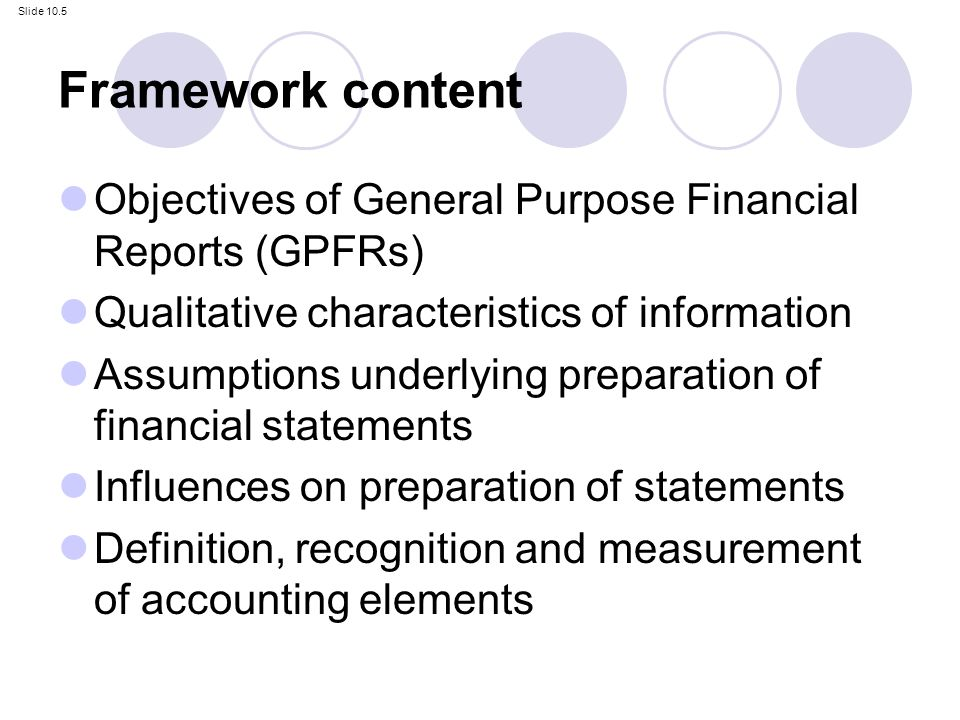 the general purpose of financial reports An overview of governmental accounting and financial reporting by michael genito  communication methods in general purpose external financial reports that contain.