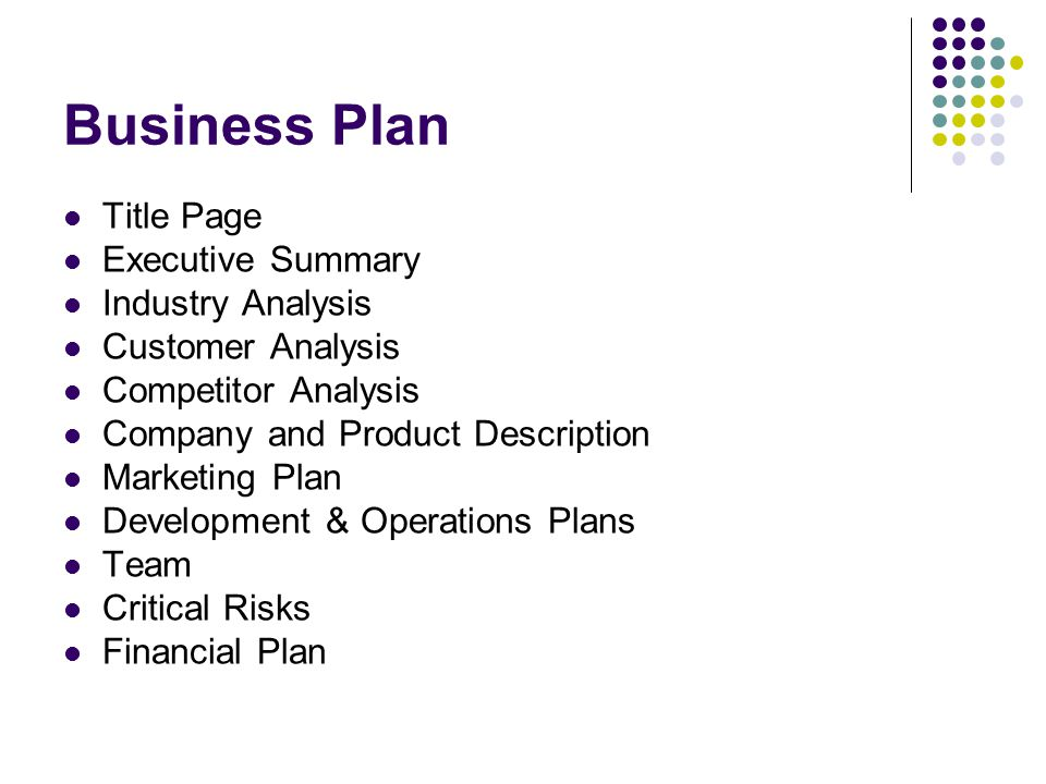 Business Plans Marketing - ppt download