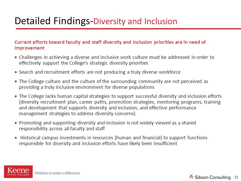 the three issues surrounding diversity and inclusion Employers in both the public and private sectors are more than ever focused on attracting and retaining a diverse workforce diversity and inclusion programs are now some of the most visible programs within workplaces these programs have a strong significance because they reflect the types of ideas,.